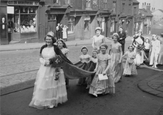 Whitsuntide Parade 1955. Courtesy Audrey Wardley.